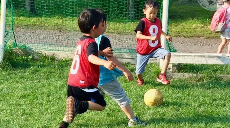 2017.07.06 U6 けいおう幼稚園サッカー教室